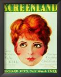 Clara Bow - Screenland Magazine Cover 1930's Prints