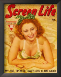 Joan Blondell - Hollywood Screen Life Magazine Cover 1930's Prints