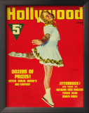 Sonja Henie - HollywoodMagazineCover1940's Posters