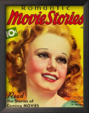 Jean Harlow - Romantic Movie Stories Magazine Cover 1930's Prints