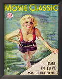 Jean Harlow - MovieClassicMagazineCover1930's Posters