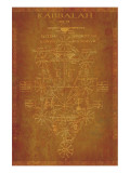 Parchment Kabbalah Impresso gicle premium