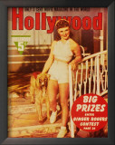 Ginger Rogers - Hollywood Magazine Cover 1940's Poster