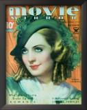 Norma Shearer - Movie Mirror Magazine Cover 1930's Poster
