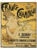 France-Champagne Impresso gicle premium por Pierre Bonnard