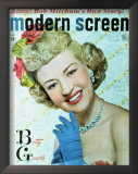 Betty Grable - Modern Screen Magazine Cover 1940's Prints