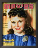 Ginger Rogers - MoviesMagazineCover1930's Prints