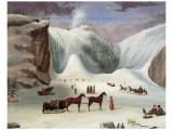 Robert Clow Todd - Ice Cone, Montmorency Falls - Birinci Sınıf Giclee Baskı