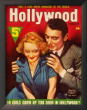 Bette Davis - Hollywood Screen Life Magazine Cover 1930's Print