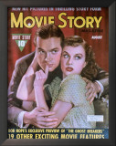 Goddard, Paulette - Movie Story Magazine Cover 1940's Posters