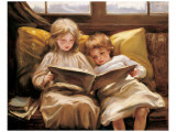 Interesting Story Premium Giclee Print by Laura Muntz Lyall