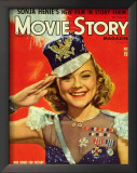 Sonja Henie - Movie Story Magazine Cover 1940's Posters