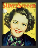 Ruby Keeler - SilverScreenMagazineCover1940's Print
