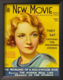 Marlene Dietrich - The New Movie Magazine Cover 1930's Prints