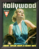 Carole Lombard - HollywoodMagazineCover1940's Posters