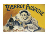 Pierrot Absinthe Premium Giclee Print