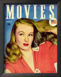 Lake, Veronica - MoviesMagazineCover1930's Print