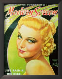 Carroll, Madeleine - ModernScreenMagazineCover1940's Posters