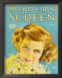Hepburn, Katharine - ModernScreenMagazineCover1940's Print