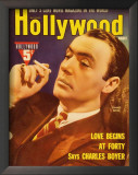 Charles Boyer - Hollywood Magazine Cover 1940's Print