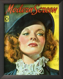 Hepburn, Katharine - ModernScreenMagazineCover1940's Poster