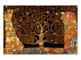 The Tree of Life (Interpretation) Giclée-Premiumdruck von Gustav Klimt