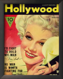 Jean Harlow - Hollywood Magazine Cover 1940's Pósters