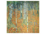 Birkenwald, ca.1903 Giclée-Premiumdruck von Gustav Klimt