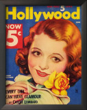 Janet Gaynor - HollywoodMagazineCover1940's Print
