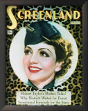 Claudette Colbert - ScreenlandMagazineCover1930's Posters