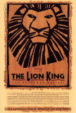The Lion King op Broadway Poster