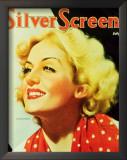 Carole Lombard - Silver Screen Magazine Cover 1940's Prints