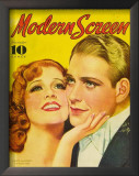 MacDonald, Jeanette - ModernScreenMagazineCover1940's Poster