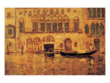 Old Palace, Venice Premium Giclee Print by James Wilson Morrice
