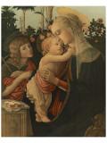 La Vierge avec l'Enfant et St. Jean Premium Giclee Print by Sandro Botticelli