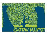 The Tree of Life (Kirie II) Exklusivt gicléetryck av Gustav Klimt