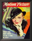 Constance Bennett - MotionPictureMagazineCover1930's Prints