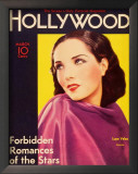 Lupe Velez - Hollywood Magazine Cover 1940's Print