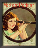 Clara Bow - Motion Picture Magazine Cover 1930's Prints