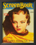 Sylvia Sidney - Screen Book Magazine Cover 1930's Prints
