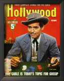 Clark Gable - HollywoodMagazineCover1940's Posters