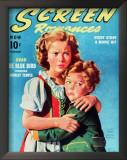 Temple, Shirley - Screen Romances Magazine Cover 1930's Print
