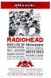 Radiohead Kunstdruck
