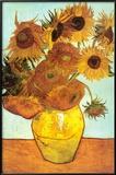 Sunflowers, c.1888 Art by Vincent van Gogh