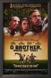 O Brother, Where Art Thou Poster