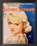 Constance Bennett - Silver Screen Magazine Cover 1940's Poster