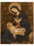 Madonna col Bambino, c.1370-1428 Giclée-Premiumdruck von  Gentile Da Fabriano