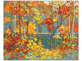 The Pool Premium giclée print van Tom Thomson