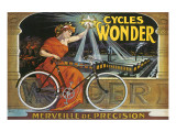 Cycles Wonder Premium giclée print van Francisco Tamagno
