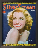 Jean Arthur - Silver Screen Magazine Cover 1940's Prints